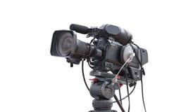 Isolerad händelse för publicitet för inspelning för televisionkamera arkivfoton