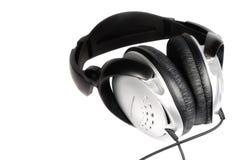 isolerad hörlurar arkivfoto