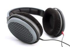 isolerad hörlurar Fotografering för Bildbyråer