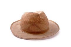 Isolerad hatt Fotografering för Bildbyråer