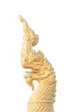 Isolerad head staty för Naga Royaltyfri Bild