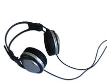 isolerad headphone 2 Arkivbild