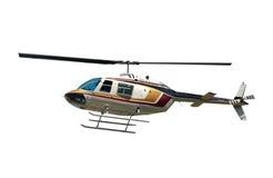 isolerad helikopter Royaltyfri Bild