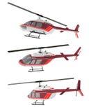 isolerad helikopter Arkivfoton