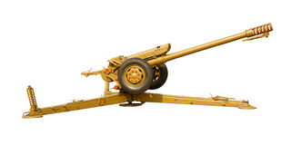 isolerad howitzer Arkivbilder