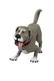 isolerad hund stock illustrationer