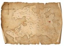 Isolerad illustration 3d för skatt medeltida översikt vektor illustrationer