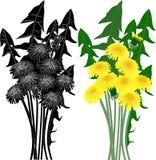 Isolerad illustration på vitbakgrund Royaltyfri Bild