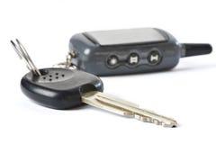 isolerad key remote för bil kontroll Arkivbilder