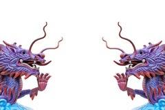 Isolerad kinesisk drake Royaltyfria Bilder