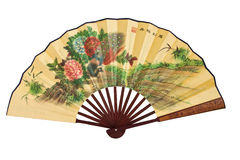 isolerad kinesisk ventilator Arkivbild