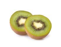 isolerad kiwi Fotografering för Bildbyråer