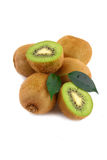 isolerad kiwi Royaltyfria Bilder