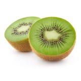 isolerad kiwi för frukt hälft Royaltyfri Foto