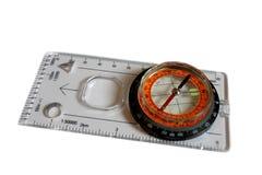 isolerad kompass Royaltyfri Fotografi