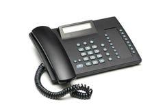 isolerad kontorstelefon Royaltyfri Fotografi