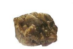 isolerad kristallfluorite Royaltyfria Foton
