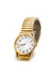 Isolerad kvinnlig tillbehör för armbandsur Royaltyfri Fotografi