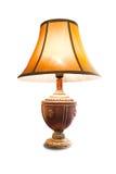 isolerad lampa arkivbild