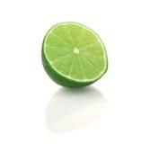 isolerad limefrukt Arkivbilder