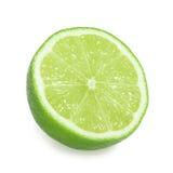 isolerad limefrukt Royaltyfri Bild