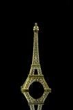 Isolerad liten Eiffeltorn Royaltyfri Bild