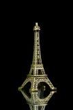 Isolerad liten Eiffeltorn Royaltyfria Bilder
