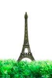 Isolerad liten Eiffeltorn Royaltyfria Foton