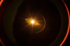 Isolerad ljus linssignalljusläcka Royaltyfria Bilder