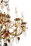 isolerad ljuskrona Royaltyfria Bilder