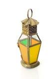 Isolerad lykta, Ramadan Lamp Concept Arkivfoto