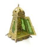 Isolerad lykta, Ramadan Lamp Concept Arkivbilder