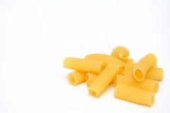 isolerad macaroni Arkivbild