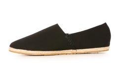 Isolerad Male sko Arkivbilder