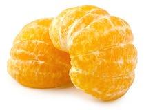 Isolerad mandarin Royaltyfria Bilder