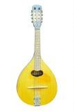 isolerad mandolin Royaltyfria Foton