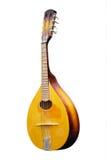 isolerad mandolin Royaltyfria Bilder