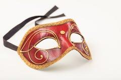 isolerad maskeringswhite för bakgrund karneval arkivbilder