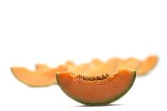Isolerad melon Fotografering för Bildbyråer
