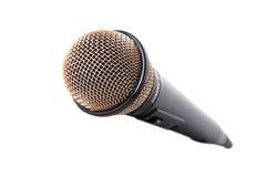 isolerad mic-white Fotografering för Bildbyråer