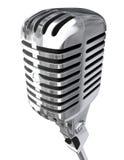 isolerad mikrofon vektor illustrationer