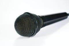 isolerad mikrofon Royaltyfri Bild