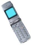 isolerad mobil telefon arkivbild