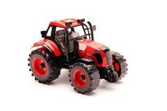 isolerad model traktorwhite Arkivfoto