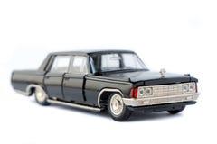 Isolerad modell för leksak bil Royaltyfria Bilder