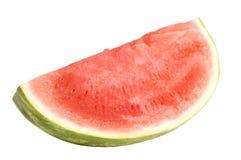 Isolerad mogen vattenmelon Royaltyfri Fotografi