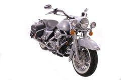 isolerad motorcykel Royaltyfri Bild