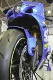 isolerad motorcykelsportwhite Royaltyfri Bild