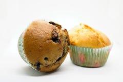 isolerad muffin royaltyfri fotografi