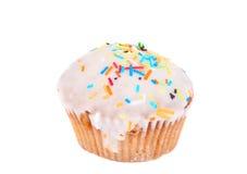 isolerad muffin Arkivfoton